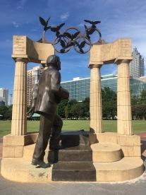 Olympic Photo Opp