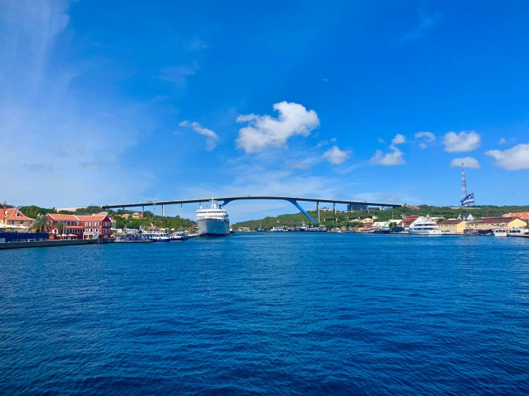 Blue and Gold Bridge Curacao