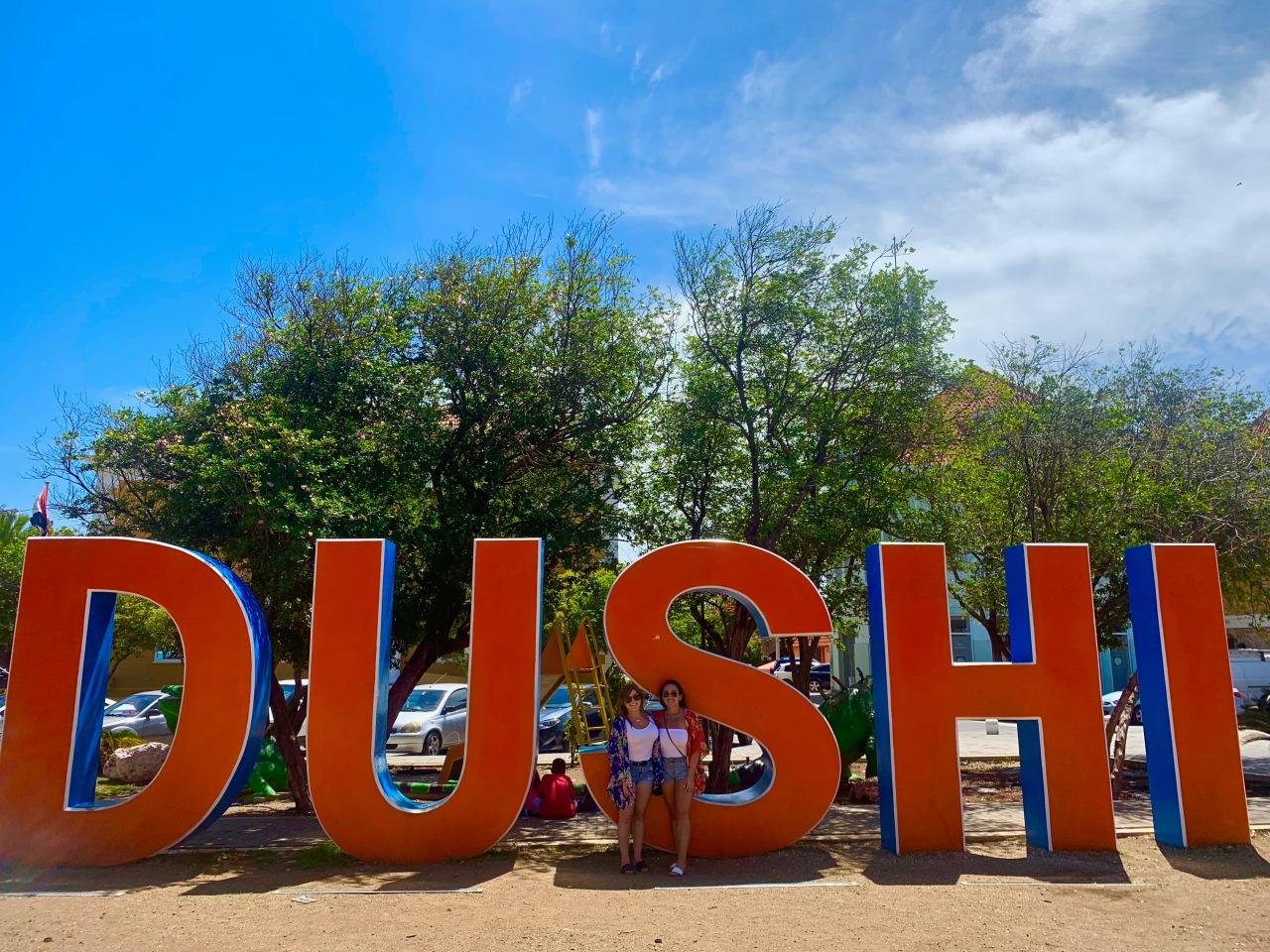 Dushi sign curaçao