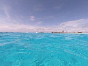 Klein Curacao waters