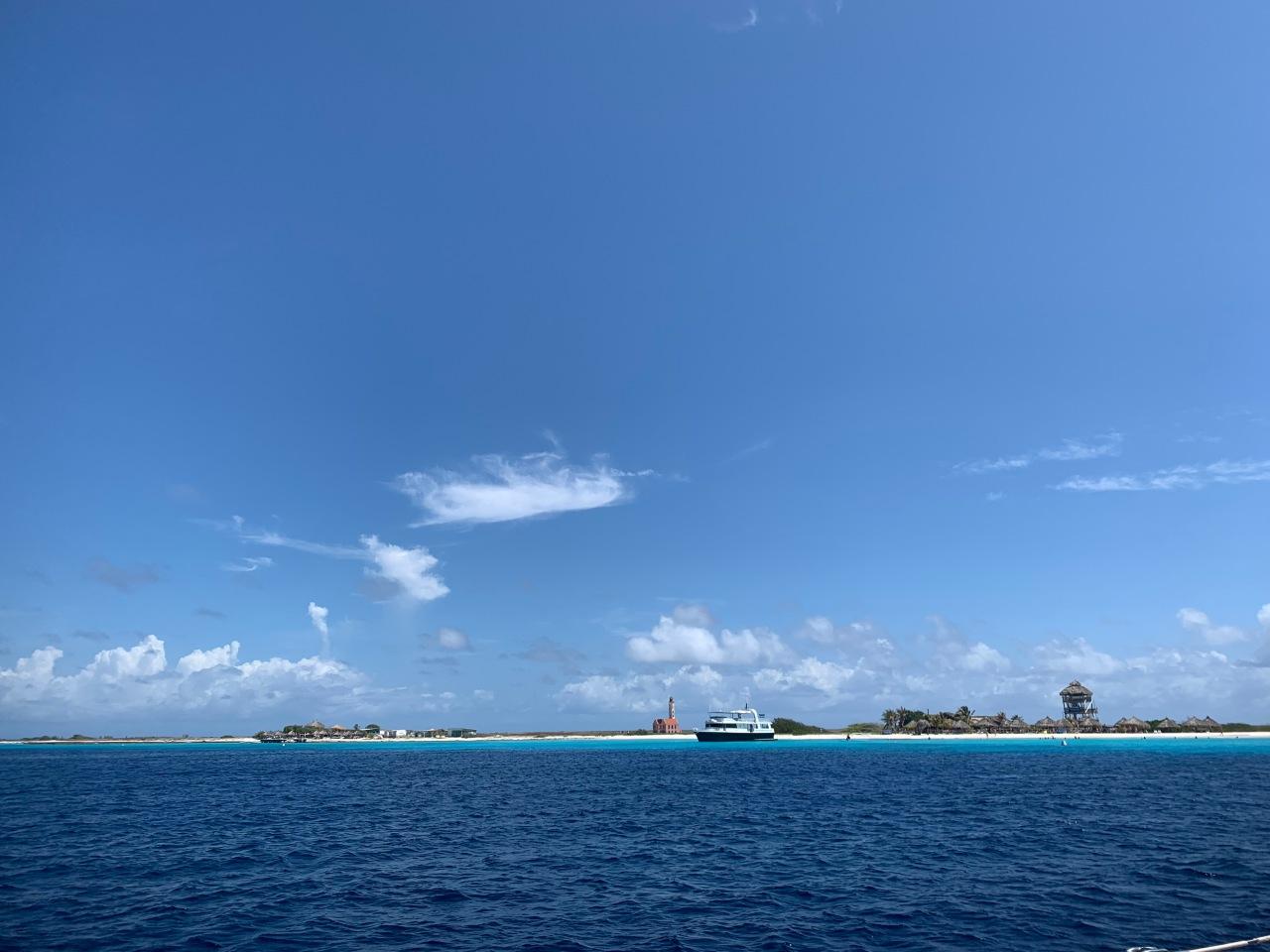 Klein Curacao coast