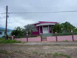 Curacao Purple house