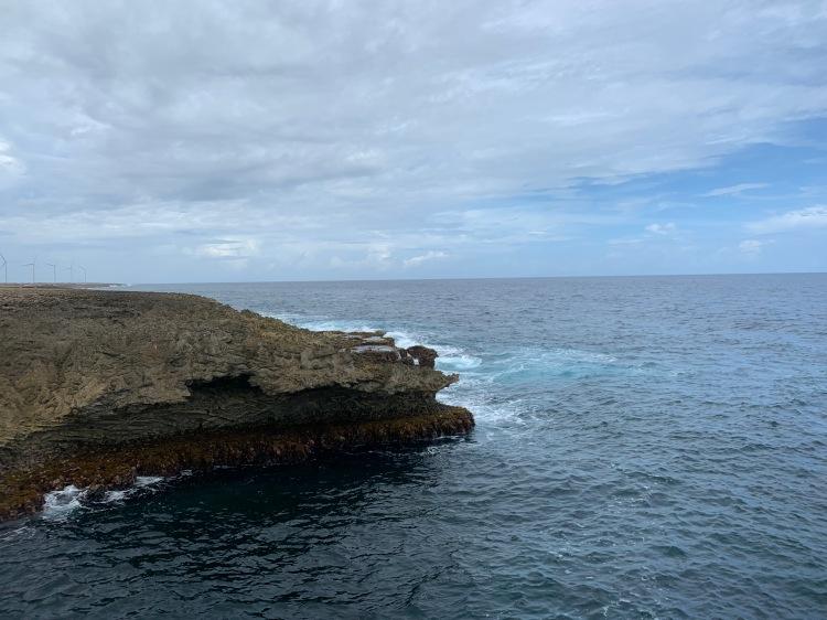 curacao rocky coast