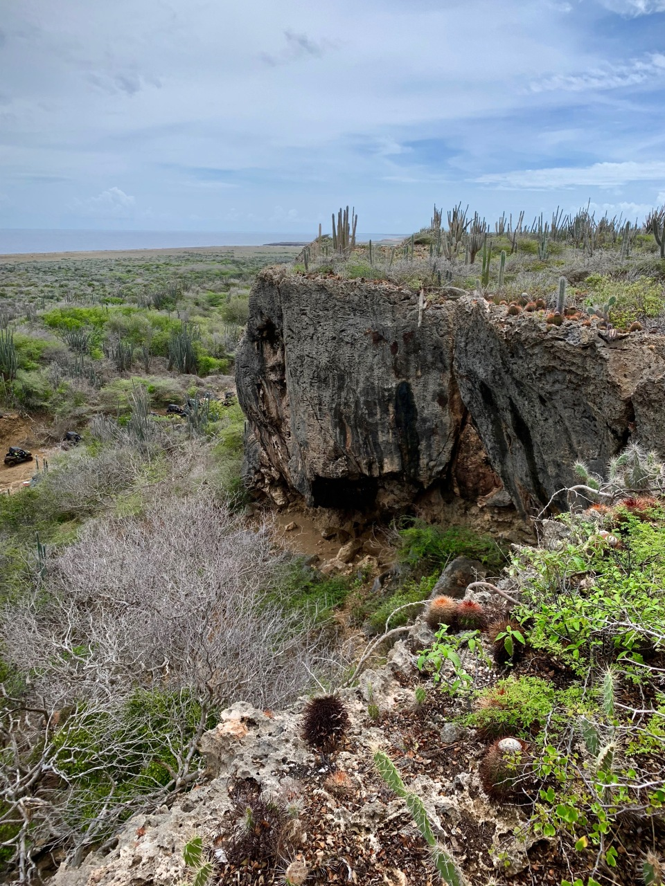 curacao mountain ledge